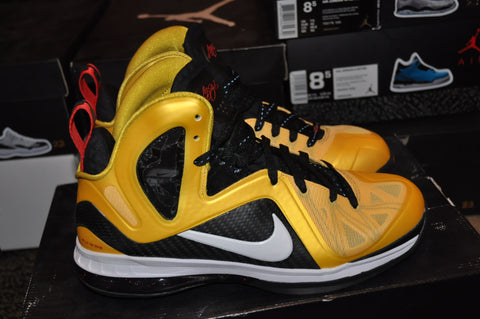 "Lebron 9 PS Elite ""Taxi"" Sz 9 LexCustoms - 1"