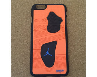 "Jordan Retro ""Knicks"" 4 Phone Case LexCustoms - 1"