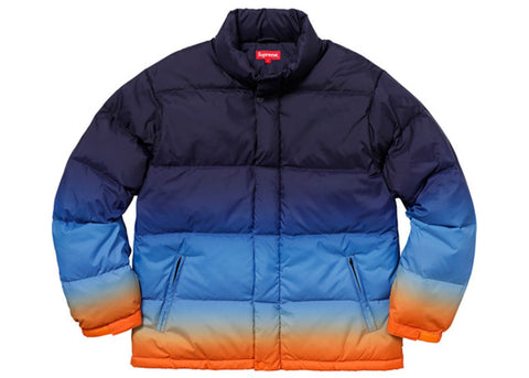 Supreme Gradient Puffy Jacket