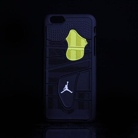 "Jordan Retro ""Thunder"" 4 Phone Case LexCustoms - 1"