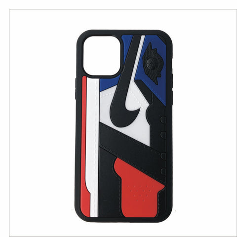 "Jordan Retro ""Top 3"" 1 iPhone Case"