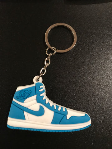 "Jordan 1 Retro ""University Blue"" Sneaker Keychain"