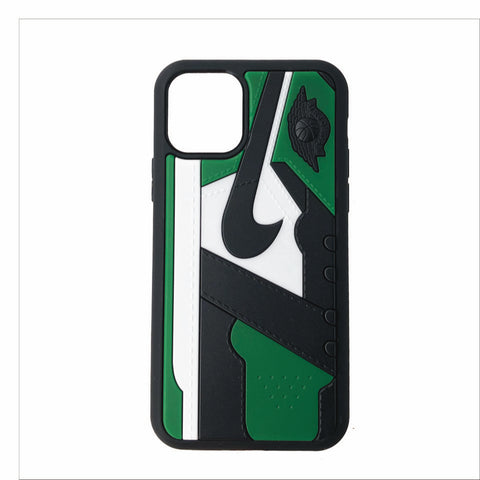 "Jordan Retro ""Pine Green"" 1 iPhone Case"