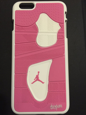 "Jordan Retro ""Pink"" 4 Phone Case LexCustoms - 2"
