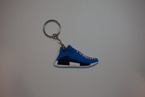 "Adidas NMD HU Pharrell Human Being ""Sharp Blue"" Sneaker Keychain"