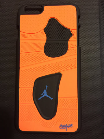 "Jordan Retro ""Knicks"" 4 Phone Case LexCustoms - 5"