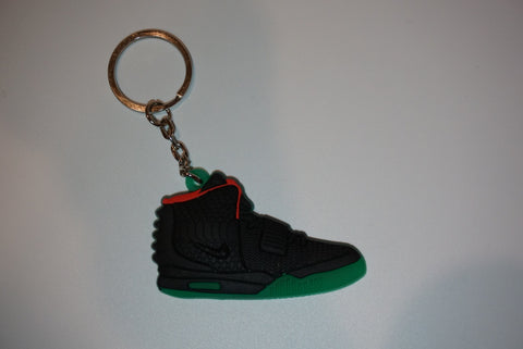 "Air Yeezy 2 ""Solar Red"" Sneaker Keychain"