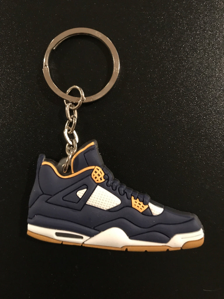 "Jordan 4 Retro ""Dunk From Above"" Sneaker Keychain"