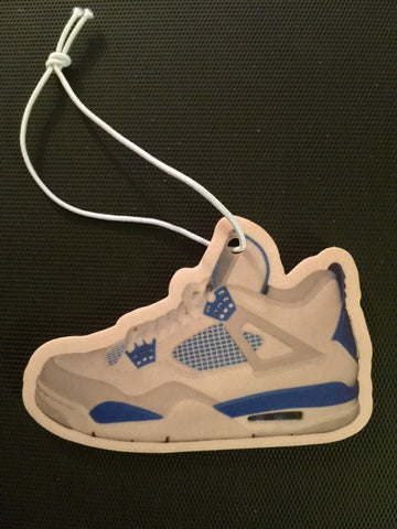 "Air Jordan Retro 4 ""Military Blue"" Car Freshener LexCustoms"