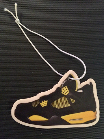 "Air Jordan Retro 4 ""Thunder"" Car Freshener LexCustoms"