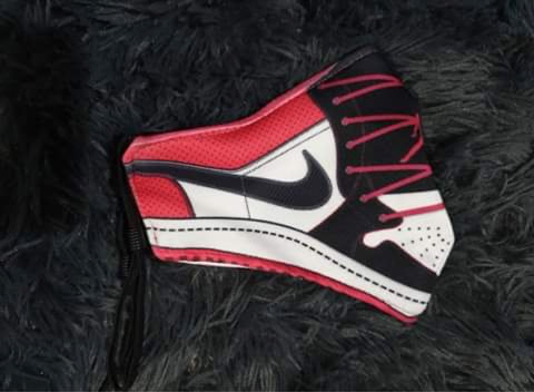Black Toe 1 Sneaker Face Mask