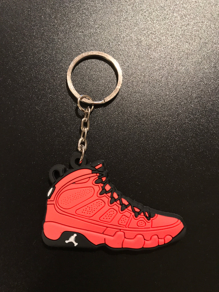 "Jordan 9 Retro ""Motorboat Jones"" Sneaker Keychain"