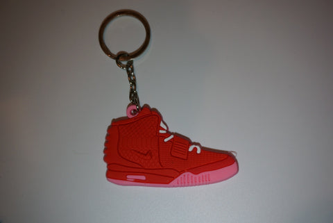"Air Yeezy 2 ""Red October"" Sneaker Keychain"