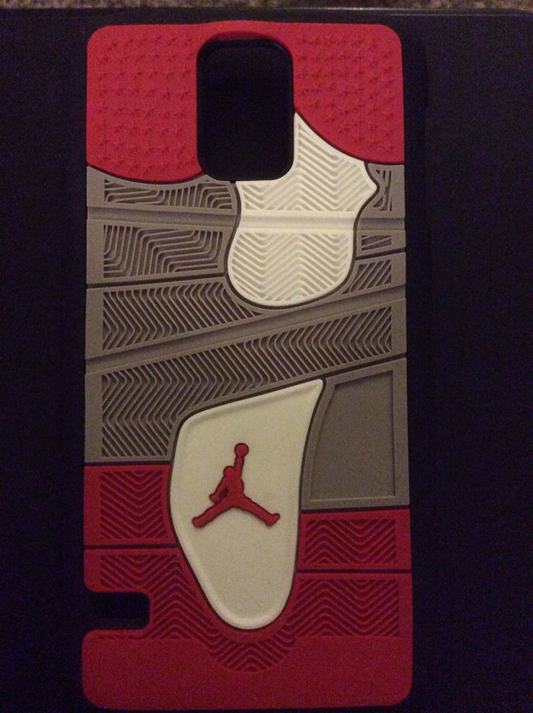 "Jordan Retro ""Bred"" 4 Phone Case LexCustoms - 5"