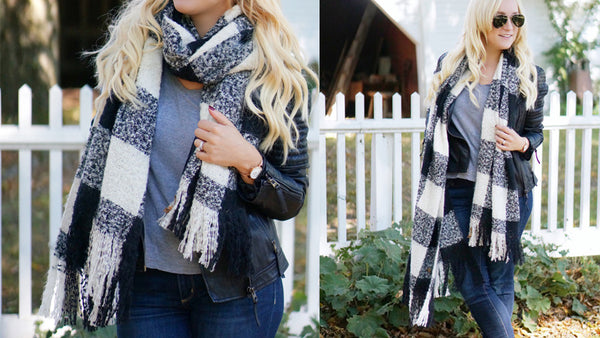 How A Scarf Completes A Fall Outfit
