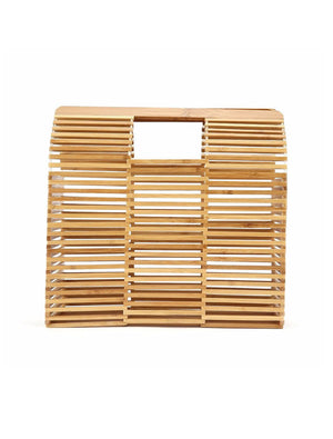 Bamboo Clutch Bags Natural