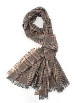Women's Fall Winter Plaid Check Scarves