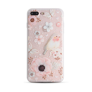 Floral Phone Cases for iPhone X, 8/8 Plus, 7/7 Plus, 6s/6s Plus