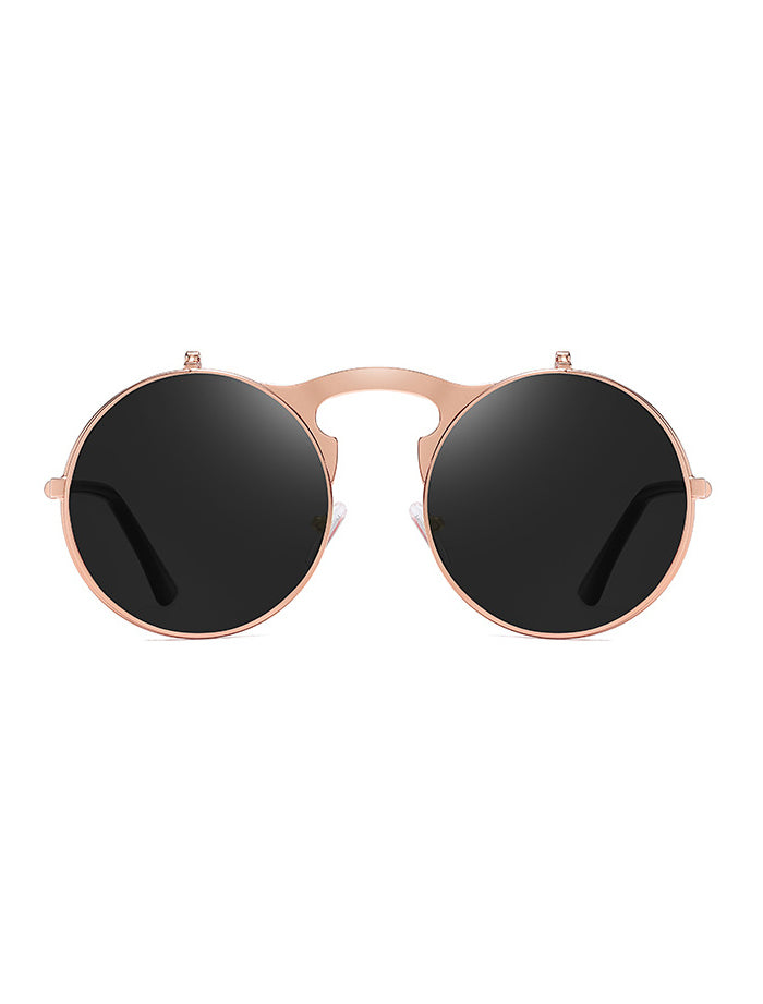 Retro Lennon Style Flit-up Sunglasses