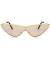 Retro Goggle Shield Sunglasses