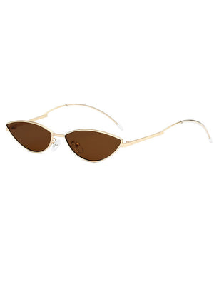 Retro 90s Small Oval Tiny Sunglasses