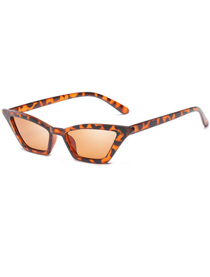 Retro 90's Thin Cat Eye Sunglasses