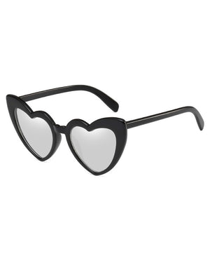 Novelty Heart Shape Sunglasses