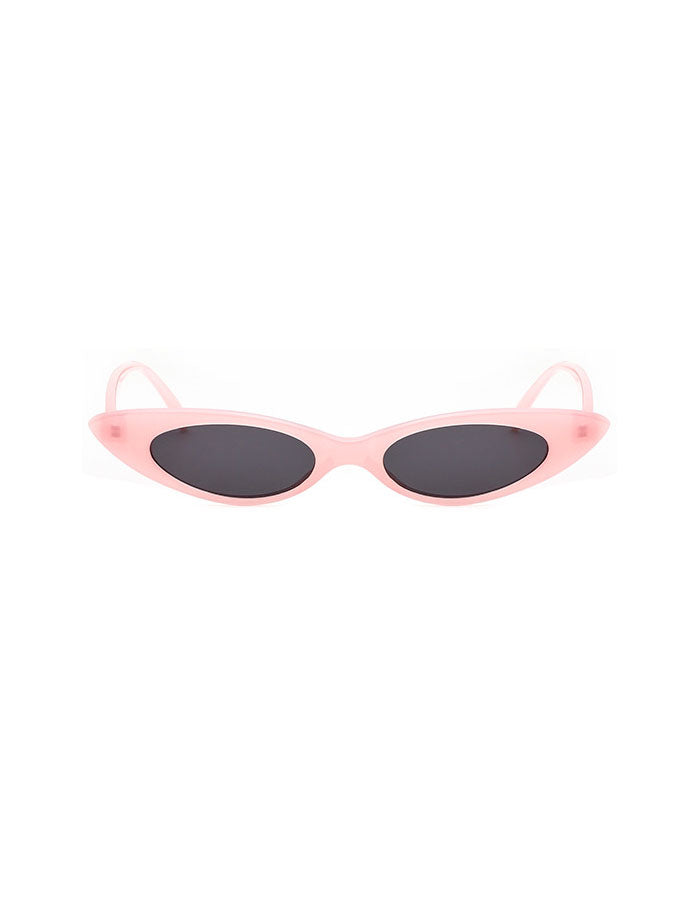 4a22aebae579 Retro 90's Tiny Small Oval Cat Eye Sunlasses | Vintage 80s Eye ...