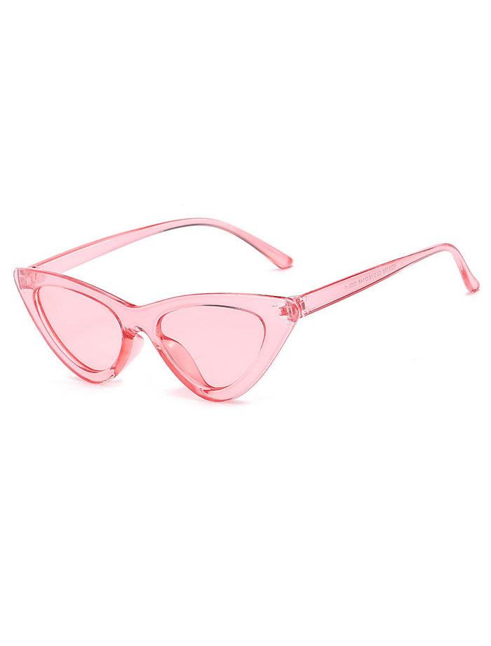 8fa75222c3f80 Retro 90 s Cat Eye Clear Frame Sunglasses for Women – ILYMIX Accessories