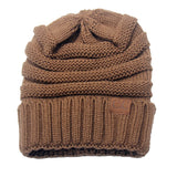 Cable Knit CC Beanie