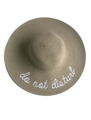 """do not disturb"" Sun Hats"
