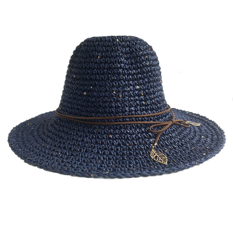 Pom Pom Fedora Hats Natural