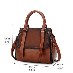 Women Handbag Vintage Tote Bag Shoulder Messenger Bag