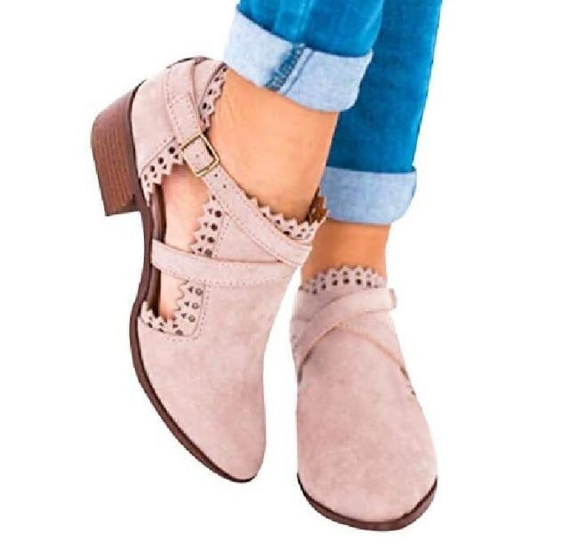cf22a25e1 Women Ankle Boots Fall High Heels Ladies Booties – ILYMIX Accessories