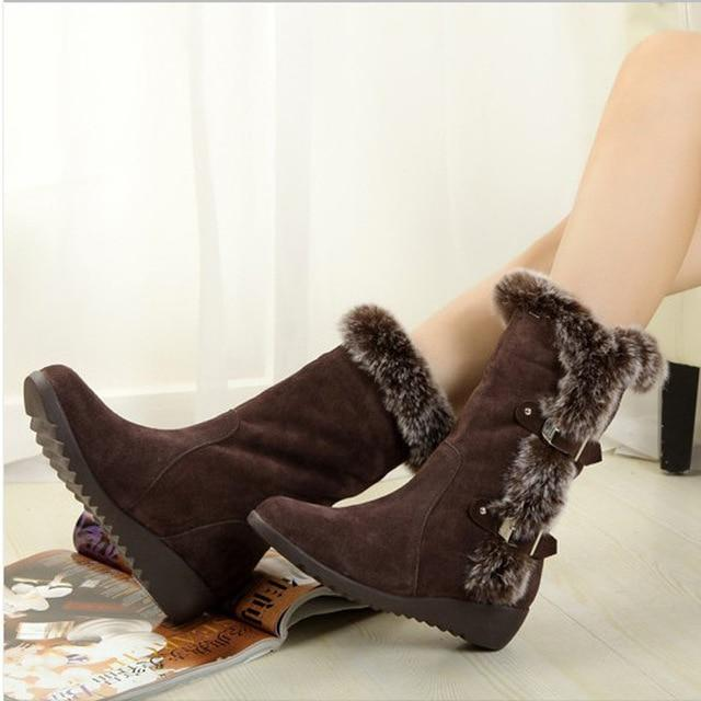 Women Snow Boots Autumn Winter Ladies Fashion Shoes