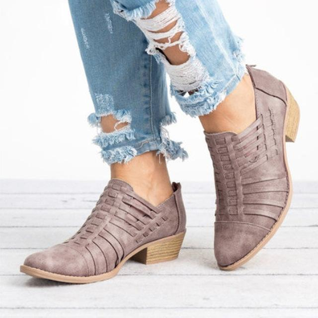 d6b1383b2f1 Women Boots Wedges Ankle Boots Autumn Female Shoes – ILYMIX Accessories