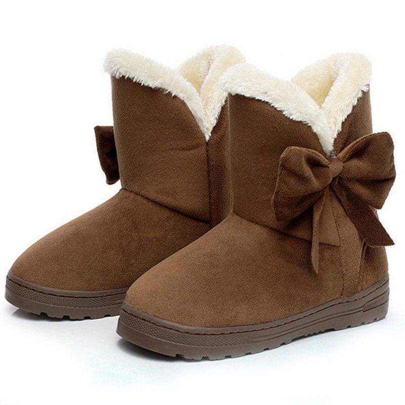 Women Snow Boots Winter Warm Shoes
