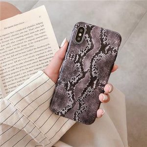Retro Snake Skin iPhone Cases