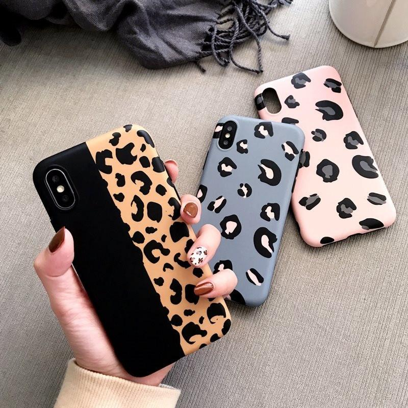 Leopard Print Phone Case For iPhone