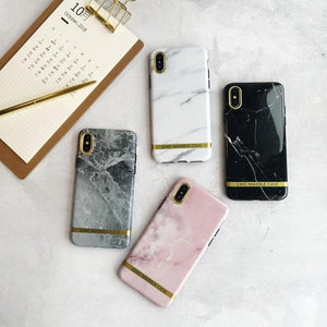 Agate Marble Case For iPhone