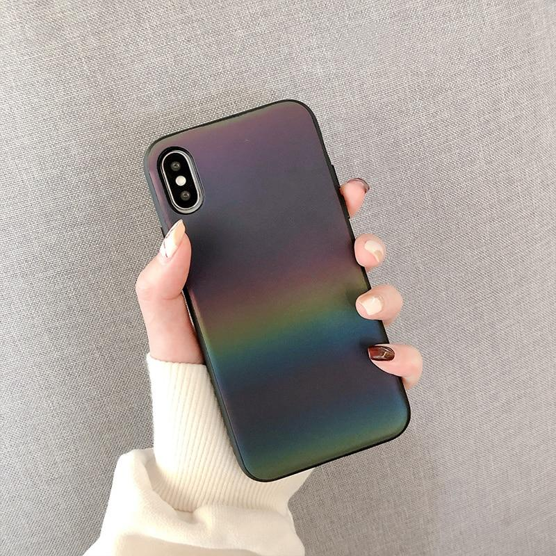Laser Gradient iPhone Case