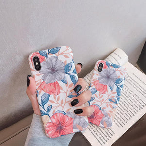 Floral Painting iPhone Case