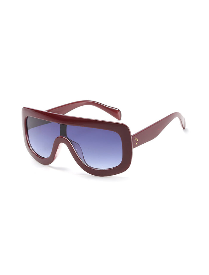 Visby Sunglasses - Jujube Red