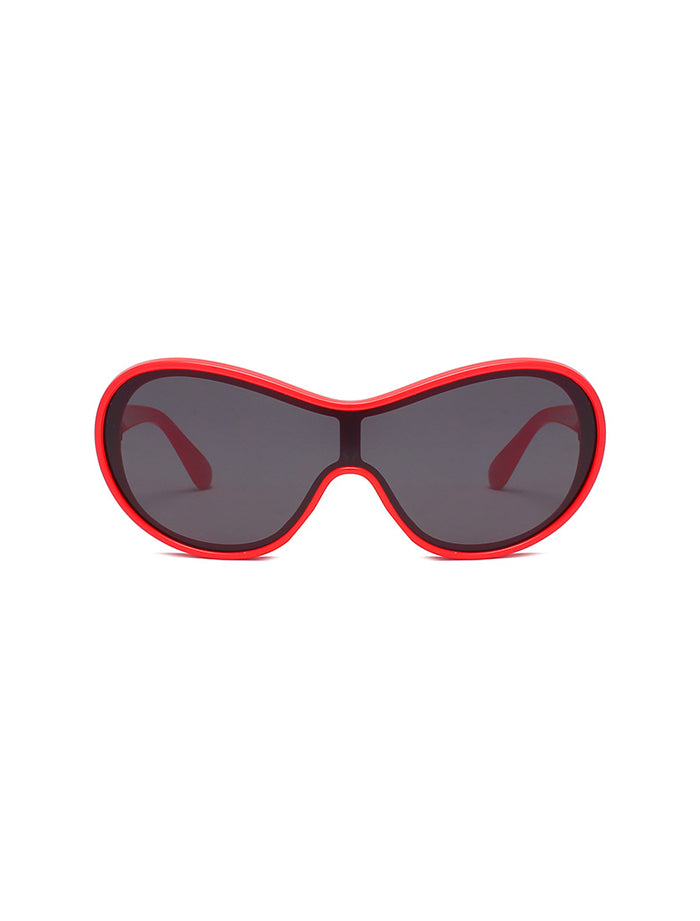 Caagu Sunglasses - Red Black