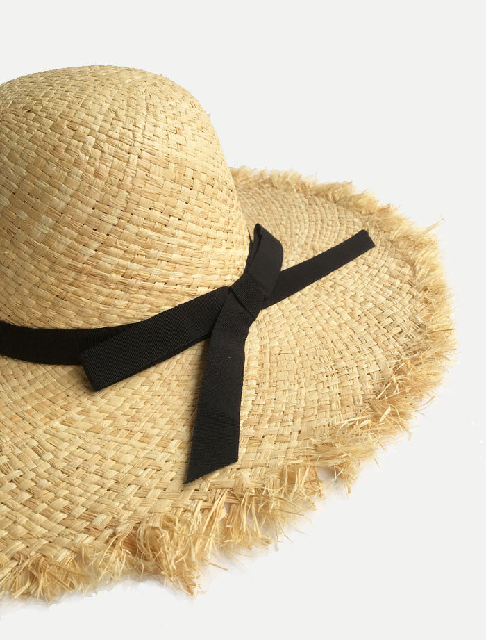 Bow Floppy Sun Hats