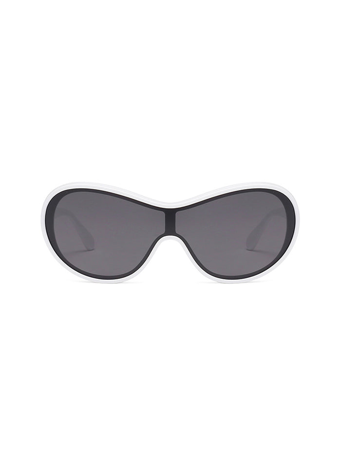 Caagu Sunglasses - White Black