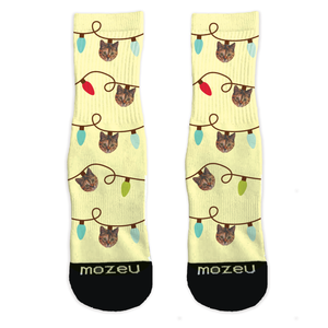 Custom Pet Socks - Lights