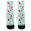 Custom Pet Socks - Santa Hat