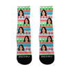 Custom Face Socks - Christmas