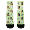 Custom Face Socks - Bae